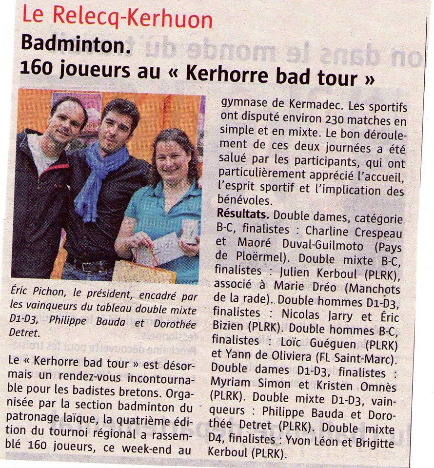 kerhorre bad tour 2014