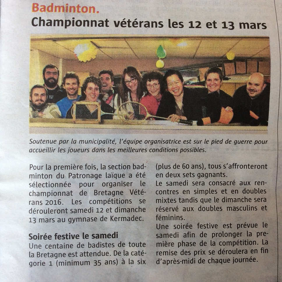 article journal prepa vet - 6 mars