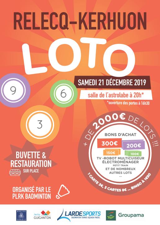 affiche loto 21 décembre